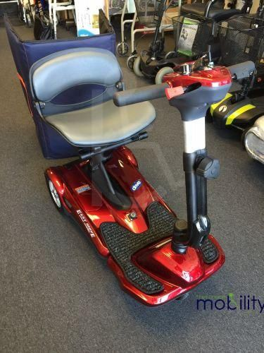 Easymove Auto Folding Mobility Travel scooter