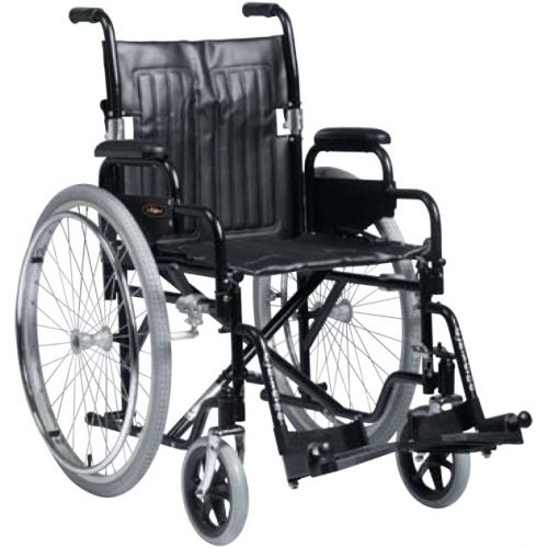Enigma Standard Steel Half Folding Back Wheelchair