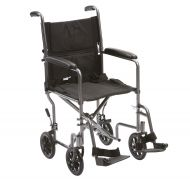 Steel Transfer Travel Wheelchair