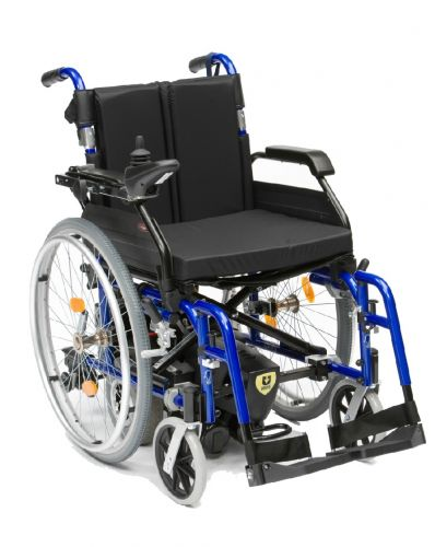 U Drive Powerstroll Converts Manual to Electric Wheelchair