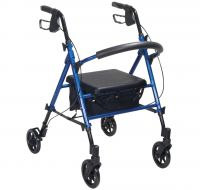 Height Adjustable 4 wheel Rollator