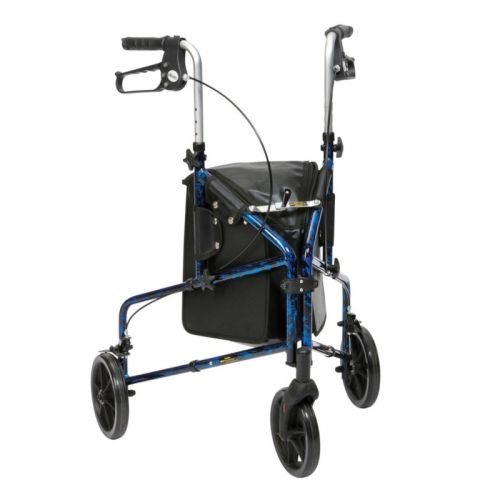 Drive Flame 3 Wheel Aluminium Walker