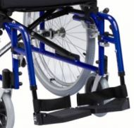 Enigma XS Aluminium Wheelchair Footplates Pair