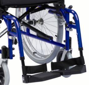 Enigma XS Aluminium Wheelchair Footplates Pair