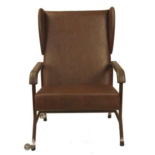 Extra Wide High Back Chair with Wings