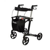 Mobilex Leopard 4 Wheel Rollator in Anthracite