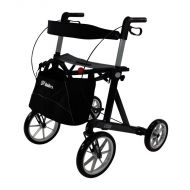 Mobilex Lion All Terrain 4 Wheel Rollator 31 Stone User Weight