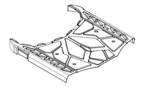 Floor Shroud Assembly For A Drive Cobra