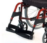 Complete Footplate And Hanger Assembly for Roma 1500R Wheelchair