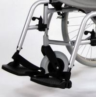 Footplate And Hanger For A Roma Orbit 1300 Wheelchair