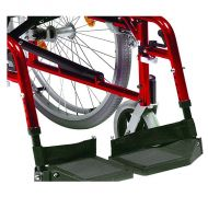 Complete Footplates for Drive Super Deluxe Wheelchair