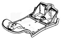Front Shroud And Floor Panel For A Kymco Micro EQ10AA