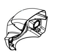 Front Visor for Drive Easy Rider