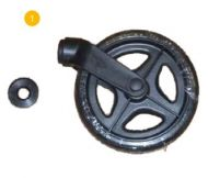 Front Wheel Assembly for Drive R6 Rollator