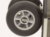 Front Wheel Assembly For A TGA Minimo Mobility Scooter