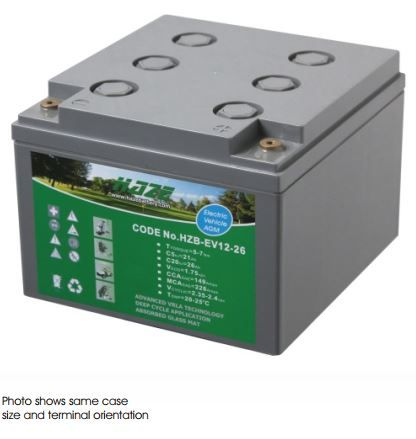 Haze 29ah AGM Battery