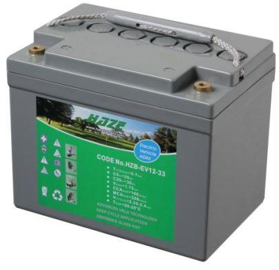 Haze 34ah AGM Battery