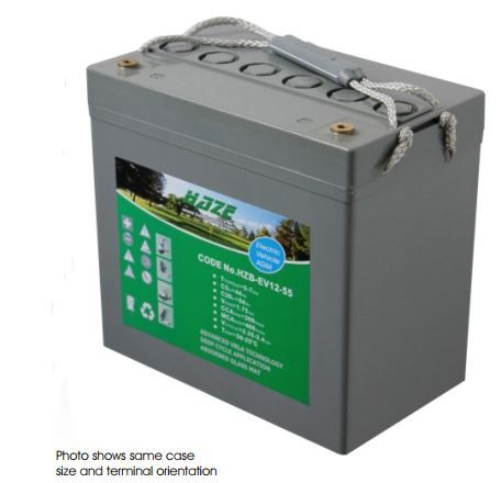 Haze 60ah AGM Battery