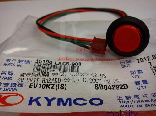 Replacement Hazard Switch For Kymco Mobility Scooter