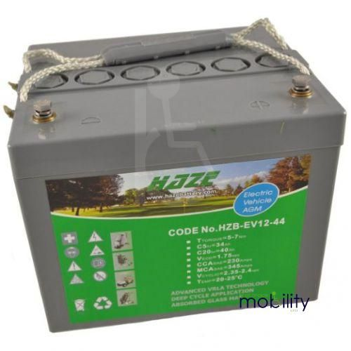 Haze 118ah AGM Battery