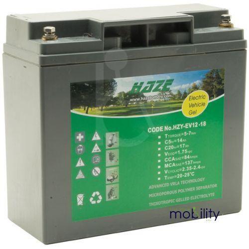 Haze 18ah AGM Battery