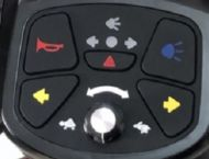 Indicator Buttons for Kymco Komfy 4 EQ30FA