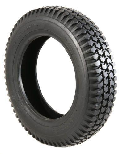 Pneumatic 3.00 x 8 Block Tread Black Scooter Tyre