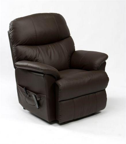 Lars Leather Dual Motor Rise & Recline Armchair