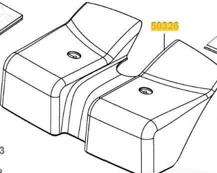 Top Battery Box Section for Kymco Mini S ForU EQ20CG