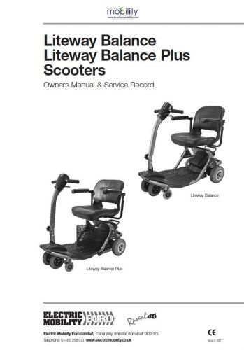 Rascal Balance and Balance Plus Manual