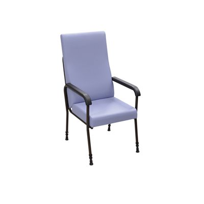 Height Adjustable High Back Longfield Lounge Chair