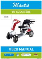 Monarch Mantis Scooter Manual
