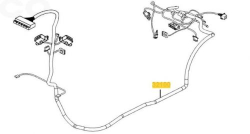 Main Wiring Harness For A Kymco Agility EQ35FA