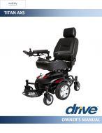 Drive Titan AXS Powerchair Manual