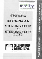 Sunrise Medical Sterling Elite XL Manual