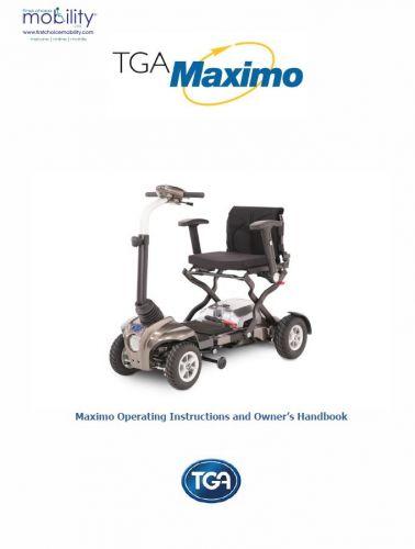 TGA Maximo Manual