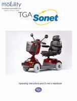 TGA Sonet Manual