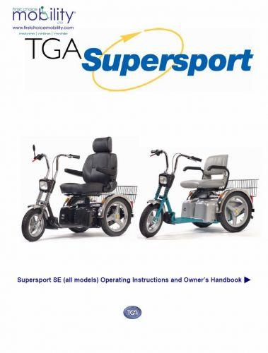 TGA Supersport Manual