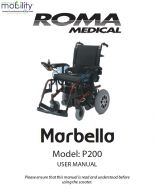 Shoprider Marbella Manual