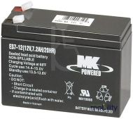 MK AGM Battery - ES7-12 - 12 Volt - 7.2 Ah