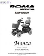 Shoprider Monza Manual