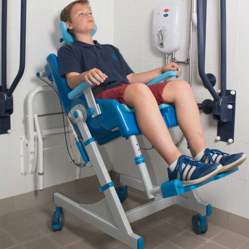 Seahorse Sanichair Plus Large Shower and Toileting Chair