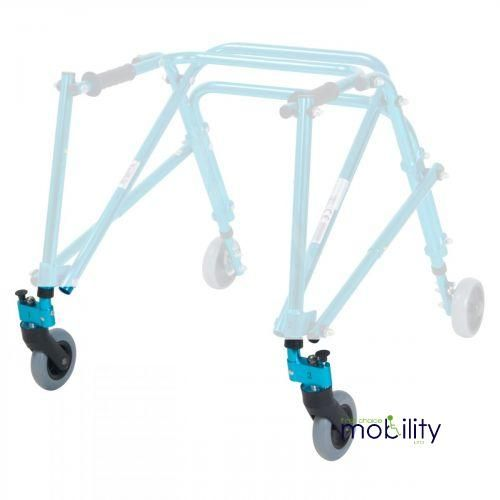 Pair Of Front Leg And Wheel For KA4200N Young Adult Midnight Blue Nimbo Walker