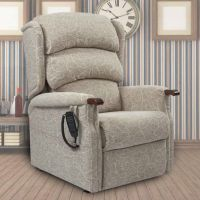 Primacare Denbigh Bariatric 25 to 35 Stone Dual Motor Rise and Recline Armchair