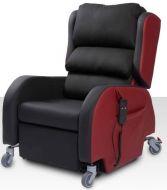 Primacare Affinity Bariatric Porter Chair 35 to 50 Stone