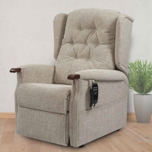 Primacare Conway Bariatric 25 to 35 Stone Dual Motor Rise and Recline Armchair