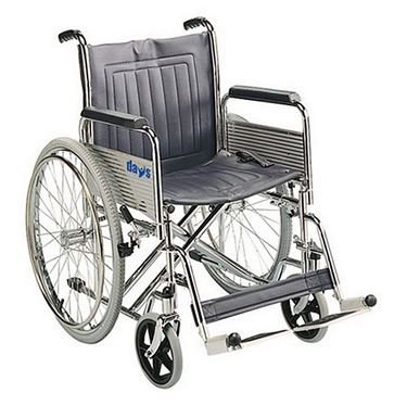 Days Heavy Duty Self Propelled Wheelchair with Folding Back 20 inch Wide Seat