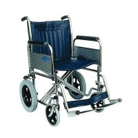 Attendant Wheelchair with Folding Back