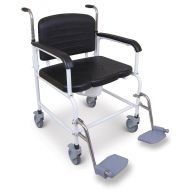 Bariatric Wheeled Commode 40 Stone