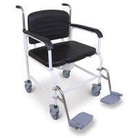 Bariatric Wheeled Commode 40 Stone